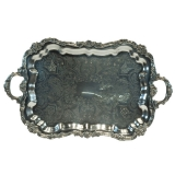<h5>Rectangular Silver Trays</h5>