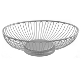 <h5>Silver Bread Basket</h5>