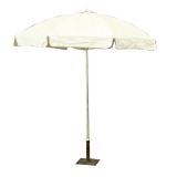 <h5>White Vinyl Umbrella</h5>