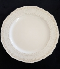 """<h5>10.75"""" Sienna Lace Dinner Plate</h5>"""