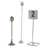 <h5>Table Number Stands</h5>