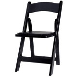 <h5>Wooden Chair – Black</h5>