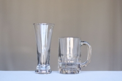 <h5> Pilsner Glass and Beer Mug </h5>