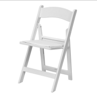 <h5>Wooden Chair - White</h5>
