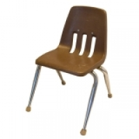 <h5>Kid's Chair - Brown</h5>
