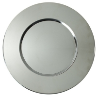 "<h5>12"" Stainless Charger</h5>"