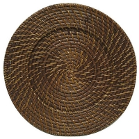 "<h5>12"" Wicker Charger</h5>"