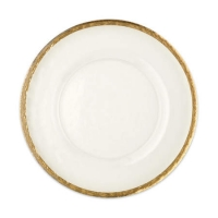<h5>Gold Band Charger Plate</h5>