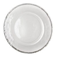 <h5>Silver Band Charger Plate</h5>