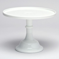 "<h5>12"" White Round Cake Stand</h5><p>(10"" & 6""Also Available)</p>"