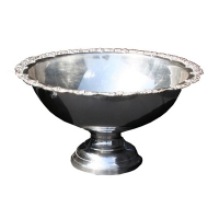 <h5>3Gal Silver Punch Bowl</h5>