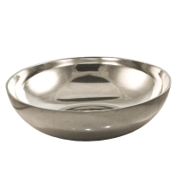 <h5>Polished Aluminium Bowl</h5>