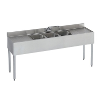 <h5>3 Compartment Sink</h5>
