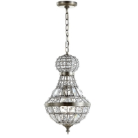 "<h5>12"" Crystal Globe Pendant Empire Chandelier</h5>"