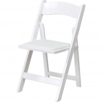 <h5>Wooden Chair – White </h5>
